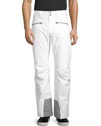 J.Lindeberg Contrast-trim Ski Pants - White