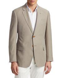 Emporio Armani Men's Linen Sportcoat - Tan - Size 50 (40) R - Brown