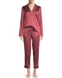 Stella McCartney - Poppy Snoozing Polka Dot Two-piece Pajama Set - Lyst