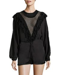 d0140ec972 Alice McCALL - Diamond Dancer Love Story Romper - Lyst