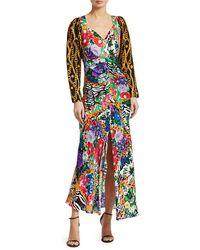 RIXO London Madonna Mixed Print Dress - Multicolor