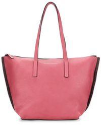 Brunello Cucinelli Gum Leather Tote - Pink