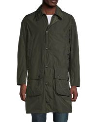 Barbour Border Casual Long Jacket - Green
