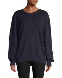 Dries Van Noten - Crewneck Wool Oversized Sweater - Lyst