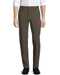 PT01 - Men's Dressy Five-pocket Techno Wool Pants - Brown - Size 56 (40) - Lyst