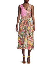 Marni Floral-print Day Dress - Multicolor