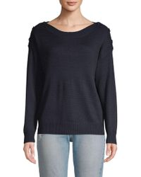 Joie - Gadelle Button-shoulder Jumper - Lyst