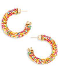 Effy 14k Yellow Gold Unicorn Stud Earrings - Multicolour