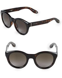 Givenchy - 49mm Round Sunglasses - Lyst