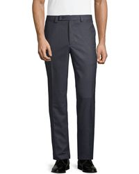 Calvin Klein Standard-fit Stretch Pants - Blue