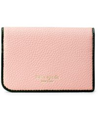 Kate Spade Sam Bi-fold Card Case - Pink