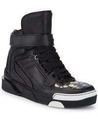 Givenchy - Classic Leather High-top Sneakers - Lyst