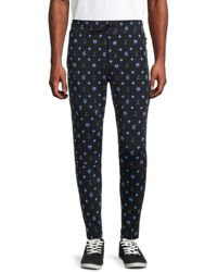 Greyson Men's Printed Sequoia Lounge Trousers - Superior - Size L - Blue