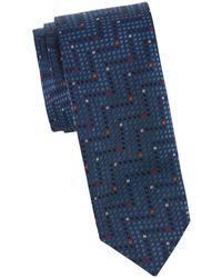 Missoni - Square Chevron Silk Tie - Lyst