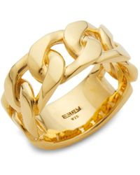 Effy - Men's Goldplated Sterling Silver Ring - Size 10 - Lyst