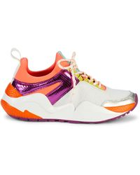 Kenneth Cole Maddox Jogger Mixed-media Trainers - Pink