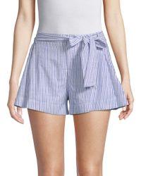 Parker - Bow Cotton Shorts - Lyst