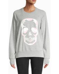 Zadig & Voltaire - Women's Camouflage Skull Sweatshirt - Navy - Size S - Lyst
