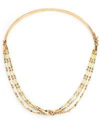 Eddie Borgo Peaked Chain Necklace - Metallic