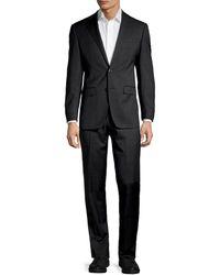 Calvin Klein Extra Slim-fit Wool-blend Suit - Black