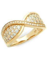 Le Vian - Diamond & 14k Yellow Gold Ring - Lyst
