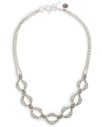 Lois Hill - Double Chain Statement Necklace - Lyst