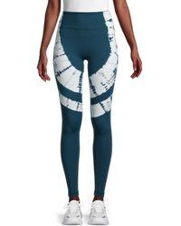 Vimmia Women's Breakwater Tie-dye Leggings - Navy Blue - Size M
