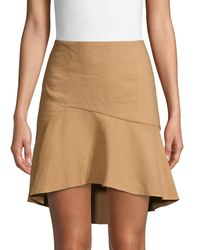 Alice + Olivia Steffie Asymmetrical Skirt - Multicolor