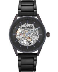 Kenneth Cole Automatic Stainless Steel Bracelet Watch - Black