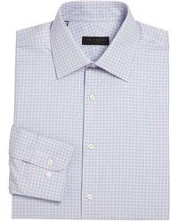 Ike By Ike Behar - Regular-fit Plaid Dress Shirt - Lyst