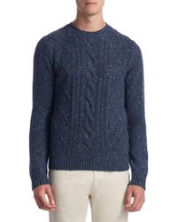 Saks Fifth Avenue - Collection Fisherman Trapp Jumper - Lyst