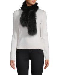 Adrienne Landau - Dyed Fox Fur Scarf - Lyst
