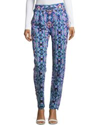 6 Shore Road By Pooja - Abstract Drawstring Beach Bum Pants - Lyst