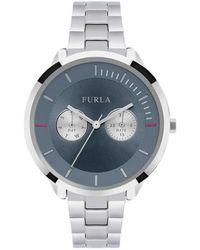Furla - Metropolis Stainless Steel Bracelet Watch - Lyst