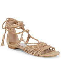 Joie - Falk Leather Sandals - Lyst