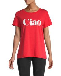 Sub_Urban Riot Ciao Graphic T-shirt - Red
