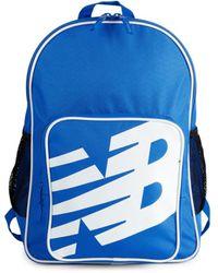 New Balance Men's Sporty Logo Backpack - Vivid Cobalt - Blue