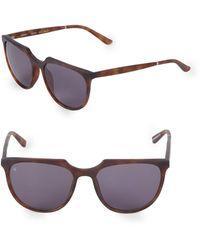 Smoke X Mirrors Blitzkrieg 53mm Round Sunglasses - Brown