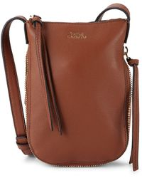 Vince Camuto Leather Phone Case Crossbody Bag - Multicolor