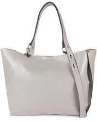 Rebecca Minkoff Large Stella Leather Tote - Grey
