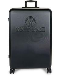 "Roberto Cavalli Classic Logo 28"" Luggage - Black"