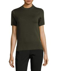 DKNY - Reversible Merino Wool Blend Jumper - Lyst