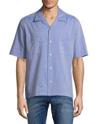 Vince - Cabana Vintage Cotton Shirt - Lyst