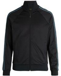 Vince Side-stripe Track Jacket - Black