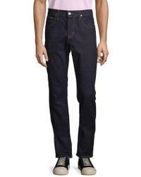 29a6a714c Hugo - Hugo Boss Slim-fit Jeans in White for Men - Lyst