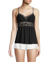 Eberjey - Floral Lace Camisole - Lyst
