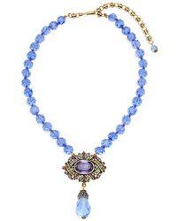 Heidi Daus - Paris Surprise Crystal-embellished Pendant Necklace - Lyst