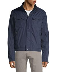 William Rast Pocket Seamed Jacket - Blue
