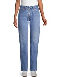Elizabeth and James Classic Faded Jeans - Blue