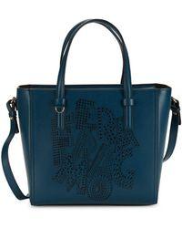 Ferragamo - Bonnie Convertible Leather Tote - Lyst